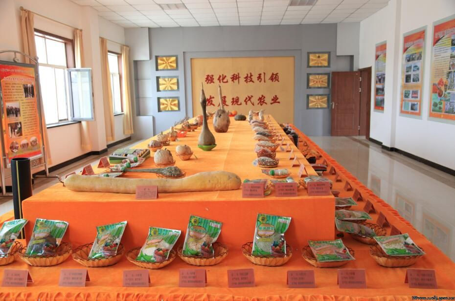 国家现代农业示范区泉湖核心园展示厅