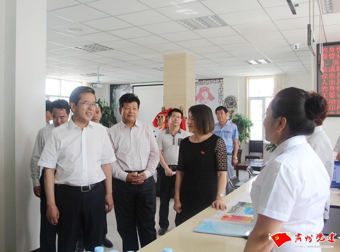 省委组织部深入肃州区调研督查党建工作